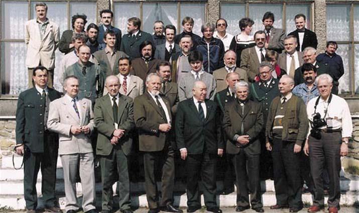Uczestnicy spotkania wLublińcu