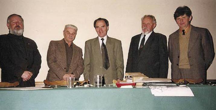 Posiedzenie zarządu klubu 28 stycznia 1997r.