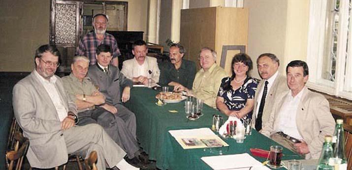 Uczestnicy posiedzenia zarządu