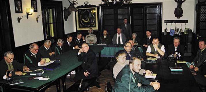 Nadzwyczajne Walne Zebranie uchwalające statut klubu