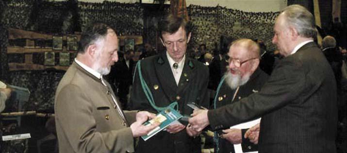 Od lewej: A.Głowacki, R.Cichocki, A.Lipka, R.Cabaj