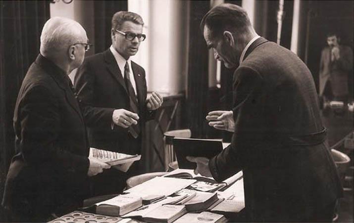 Od lewej: E.Przeździecki, W.Sikorski. R.Wyganowski / fot.Witold Kuliński