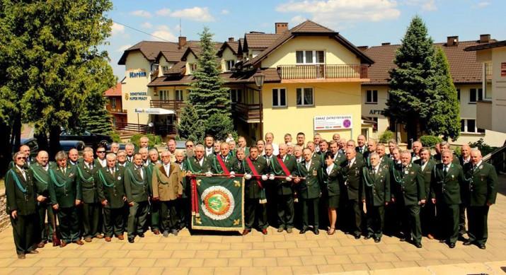 Uczestnicy IX Krajowego Zjazdu Delegatów KKiKŁ wLanckoronie